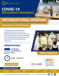 COVID 19 RESTAURANT READINESS