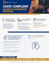 COVID Compliant Business Partnership Flyer