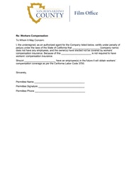 WC Waiver